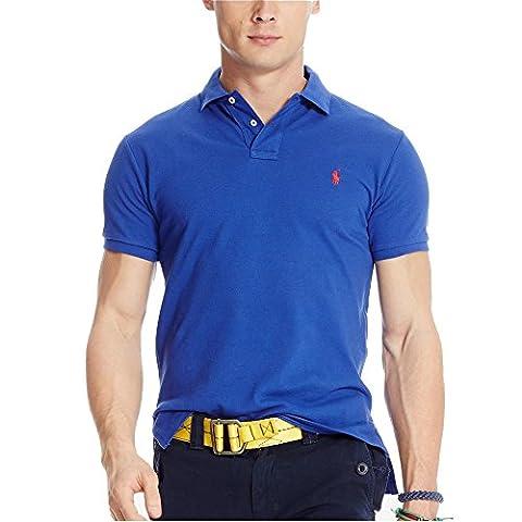 Ralph Lauren - Polo Homme - Bleu (M)