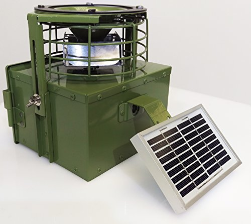 6 volt Automatic Game / Poultry / Livestock feeder plus solar panel