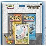 Asmodee - 2PACK2003 - A l'occasion des 20 ans de Pokémon -  1 Duo Pack Aléatoire Collection Générations