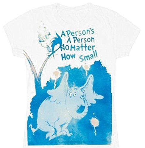 Dr. Seuss Horton Hears A Who Person Small weiß Junior T-Shirt - L