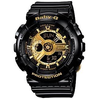 Casio Baby-G Analog-Digital Black Dial Women's Watch – BA-110-1ADR (BX015)