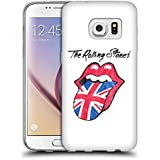 Offizielle The Rolling Stones UK Zunge Kunst Soft Gel Hülle für Samsung Galaxy S7