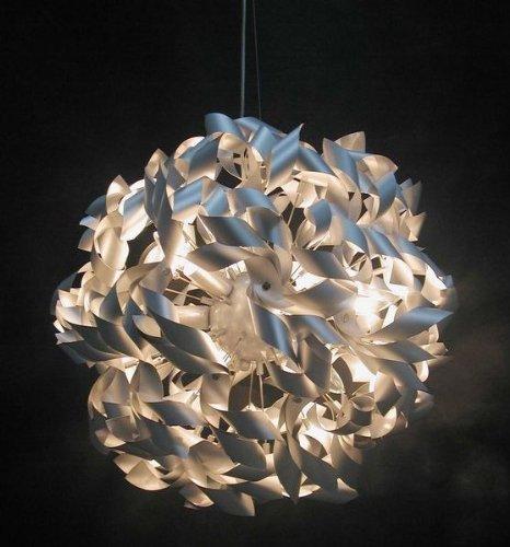 Design Hängeleuchte Silber aus Metall