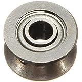 Rodamientos - TOOGOO(R) Teniendo rodamientos de acero Lote 1-50 V 624VV teniendo 4 x 13 x 6 mm
