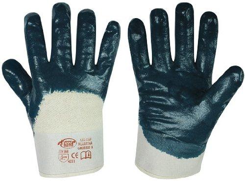 Nitril-Handschuhe BLAUSTAR Gr. 10 (12 Paar)