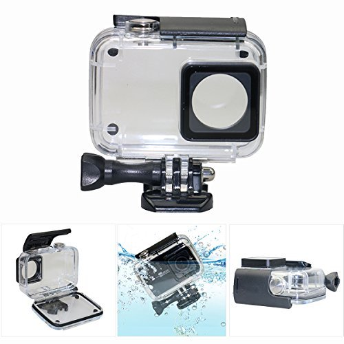 Deyard Y-05 Schutzwasserdichtes Gehäuserahmen für Xiaomi 4K/4K+/Yi Lite 35 in 1 Zubehör-Bündle für Xiaomi 4K/4K+/Yi Lite Action-Kamera 2