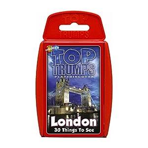Top Trumps - Juego de Cartas con Las 30 Principales Lugares Que Ver en Londres.
