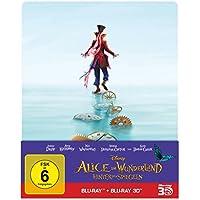 Alice im Wunderland: Hinter den Spiegeln (3D+2D) Steelbook