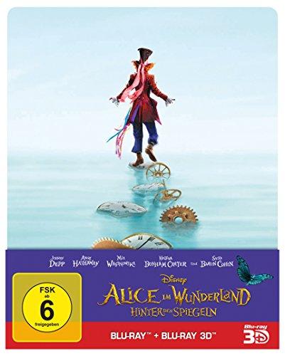 Bild von Alice im Wunderland: Hinter den Spiegeln (3D+2D) Steelbook [3D Blu-ray] [Limited Edition]