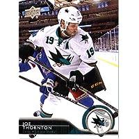 2014 /15 Upper Deck Hockey Card # 407 Joe Thornton - San Jose Sharks