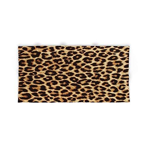 Donola Real Leopard Strandtuch Badetuch 80x 130cm (Elmo-halter)
