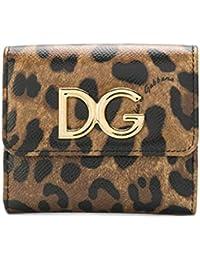 89ef194dcc Dolce E Gabbana Portafoglio Donna BI1027AI915HA93M Pelle Marrone