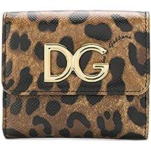 Dolce E Gabbana Portafoglio Donna BI1027AI915HA93M Pelle Marrone e309f8210f9