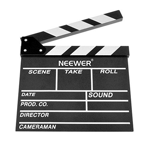 / 30cm X 27cm Holz Direktors Movie Film Regieklappe TV Cut Action-Szene Schiefertafel Klapp Tafel Schindel (Movie Clapboard)