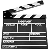 "Neewer 12X 11""/30x 27cm de madera Película Película Slateboard del director claqueta"
