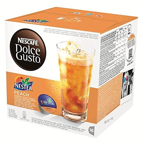 Order Nescafe Dolce Gusto Nestea Peach Coffee, 16 Capsules (Pack of 3, Total 48 Capsules, 48 servings) - Nestle UK