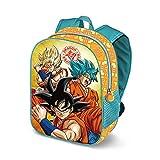 Karactermania Dragon Ball Saiyan 3D - Mochila Infantil, 31 cm