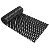 Ringgummimatte Octo Roll | Gummimatte für den Innen- und Außenbereich | Wabenstruktur | rutschfest | viele Größen | 100x300 cm