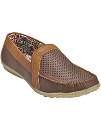 Kolapuri Centre Brown Color Casual Slip On Shoe For Men's