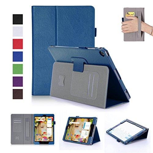 BasicStock ASUS ZenPad 3S 10 9.7 Inch Z500M Z500KL Hülle, Ultra Slim Soft Silikon + PC Hybrid Smart Hülle Schutzhülle Cover Gehäuse für ASUS ZenPad 3S 10 9.7 Inch Z500M Z500KL (Blau)