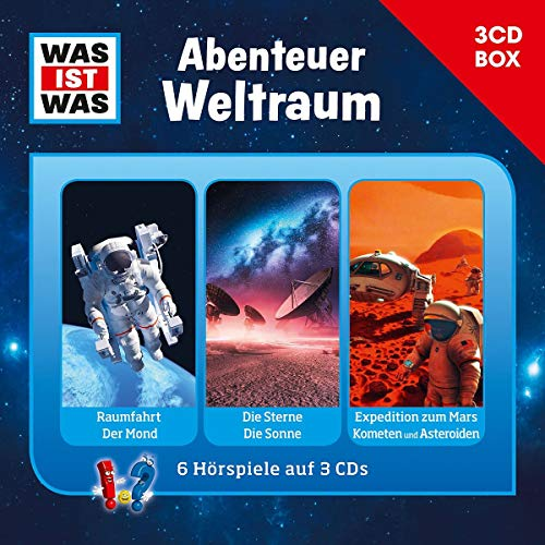 Was Ist Was 3-CD Hörspielbox Vol.6 - Abenteuer Weltraum