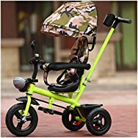 XIUYU Tricycle For Kids Age 3 With Push Handle, Children