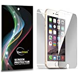ElecShield Premium Screen Protectors for Apple iPhone 6 / iPhone 6S Full Body Screen Protector (iPhone 6 / 6S, 3x Ultra Clear Front and 1x Back)