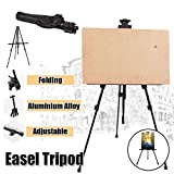 Techtest Easel Stand for Painting Canvas Kids Professionals Artist Art Heavy Duty Frame