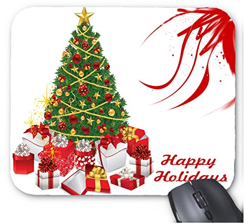 (Gaming Mouse Pad Frohe Weihnachten Foto Muster 27 Design f¨¹r Desktop und Laptop 1 Pack)