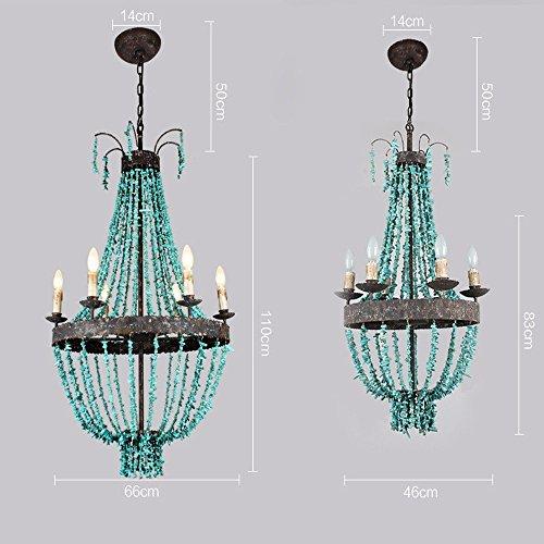 GQLB Ferro da stiro lampadari stile Liberty Lampadario lampada ...