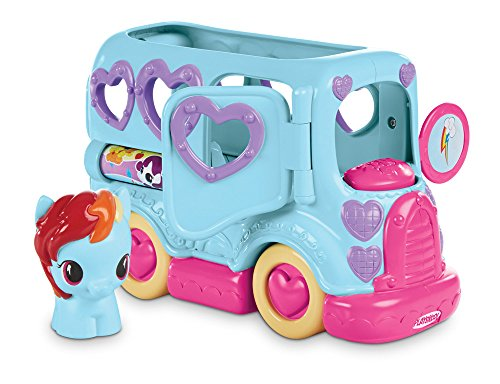 51iQm9qM4FL My Little Pony Rainbow Dash Friendship Bus by Playskool UK best buy Review