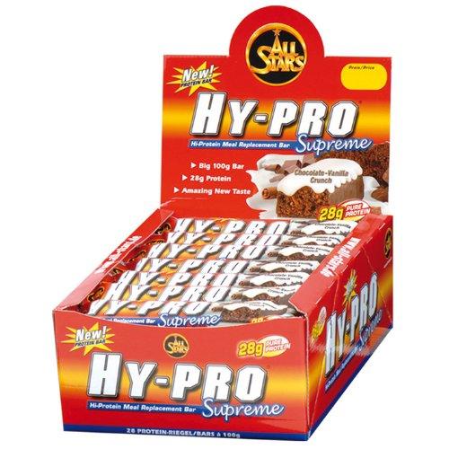 All Stars HY-Van Pro Supreme Bar Chocolate. Crunch, 28x 100G, 1er Pack (1x 2.8kg (Bar Van)