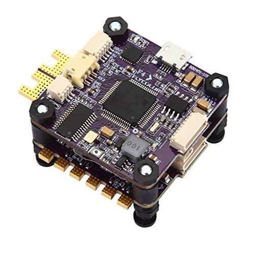 Webla Flycolor X-Tower F4 Fc 40A 3-6S Carte Contrôleur De Vol 4-In-1 32 Bits Esc Pour Drone Course Fpv