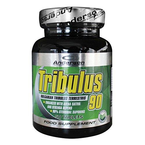 Integratore Anderson Tribulus 90 (50cpr) Perdita dei capelli - azione anti caduta - calvizie - alopecia - diradamento