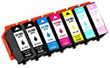 Printing Pleasure 378XL 7 Druckerpatronen kompatibel für Epson Expression Photo XP-8500 XP-8505 HD XP-15000 | C13T37914010 C13T37924010 C13T37934010 C13T37944010 C13T37954010 C13T37964010