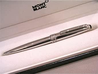 montblanc kugelschreiber mit drehmechanik meisterst ck solitaire royal steel 06118. Black Bedroom Furniture Sets. Home Design Ideas