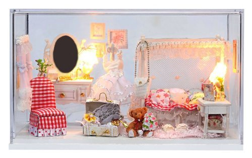 Puppenhaus Miniatur handgemachte Kit eingestellt Whispering Angel (Japan-Import)