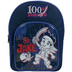 Jake y mochila escolar azul del Neverland Pirates Boy