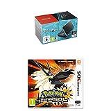 Nintendo New 2DS XL - Consola Portátil, Color Negro y Turquesa + Pokémon Ultrasol