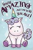 Close Up Póster Unicorn - You'Re Amazing Just The Way You Are! (61cm x 91,5cm) + 1 Póster Sorpresa de Regalo
