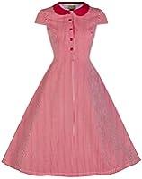 Lindy Bop 'Wendy' Millésime 1950's Bonbons Bande Peter Pan Collier Chemise Robe