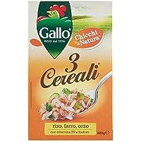 Gallo 3 Cereali Riso, Farro e Orzo - 800 gr