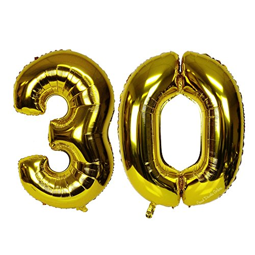 Large Gold Helium Foil 30 balloon