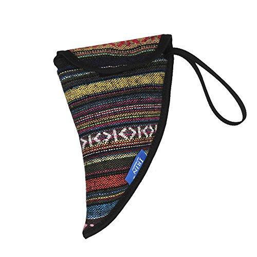 Lepeuxi Spezielle National Style Ocarina Tasche Case Holder Baumwollmaterial mit Tragegriff