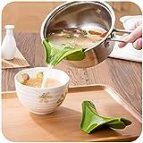 xizi silicone zuppa imbuto cucina gadget strumenti acqua la cucina strumento round bocca edge deviatore fluido diversivo bocca 2 pc