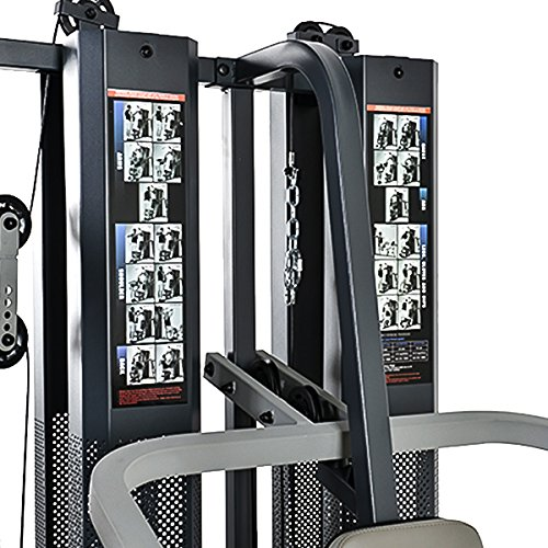 Marcy gs99 dual stack home gym leg press 2 users 2 x for Home designs by marcy