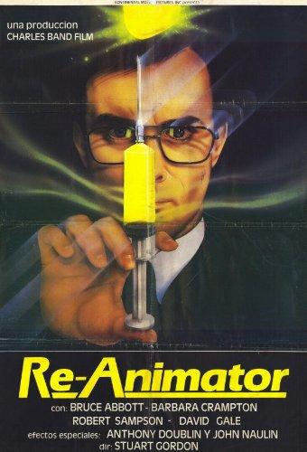 Re-Animator Plakat Movie Poster (11 x 17 Inches - 28cm x 44cm) (1985) Spanish