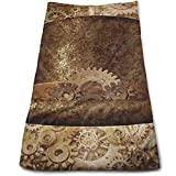 ewtretr Toallas De Mano, Steampunk Top Hat As A Science Cool Towel Beach Towel Instant