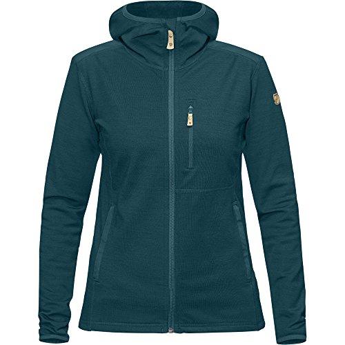Fjällräven Damen Keb Fleece Hoodie W Pullover & Sweatshirt, Glacier Green, L