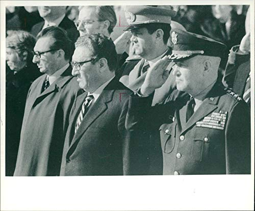 Fotomax Vintage Photo of Dr. Henry Kissinger with Pacepa.